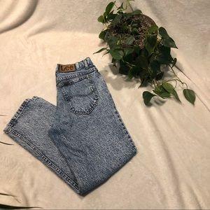 Vintage Lee Acid Wash Mom Jeans